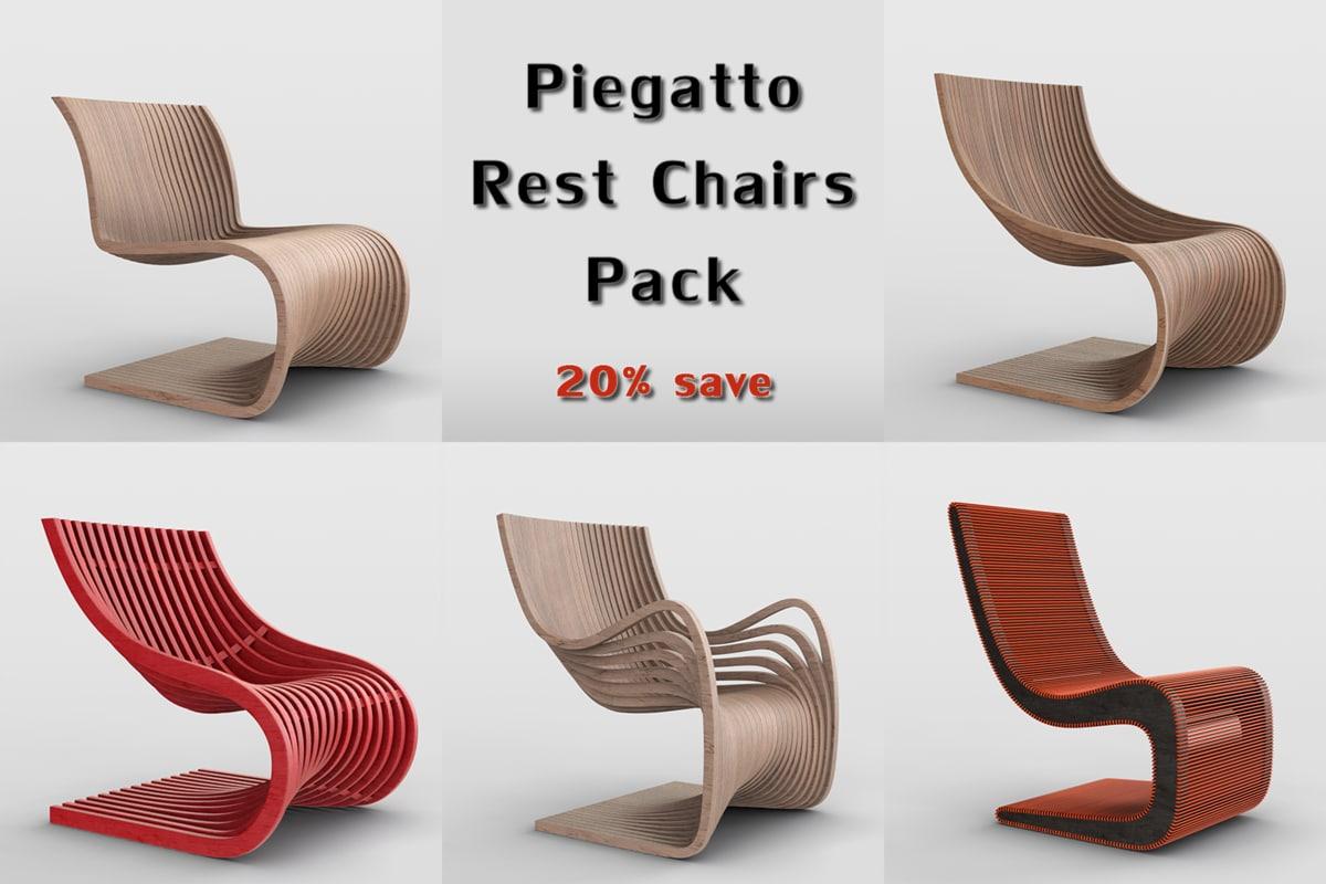 Stuhl Design Piegatto Einrichtung Ideen