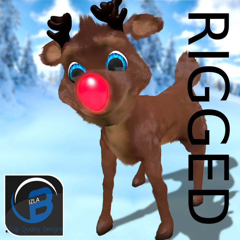 Rudolph the red nosed reindeer characters