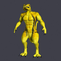 imagination creatures 3d model