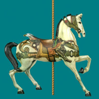 imagination carousel 3d model
