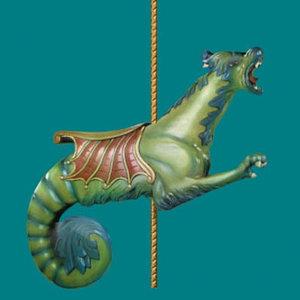 carousel hershal dentzel 3d model