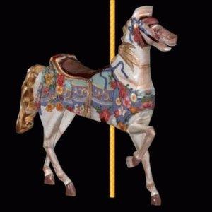 horse carousel 3d 3ds