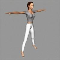character melissa 3d model