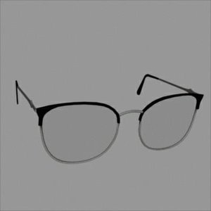 accessories glasses 3d model