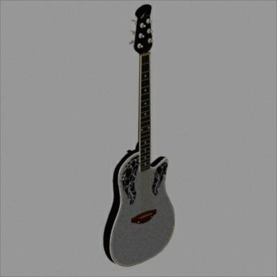 guitar 3d 3ds