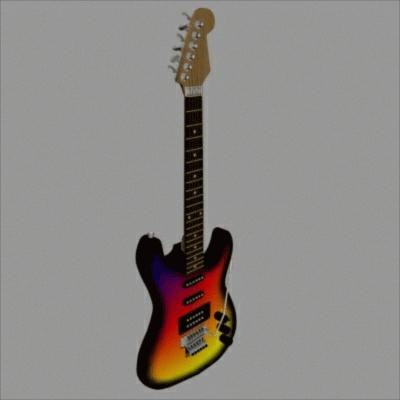 3dsmax guitar