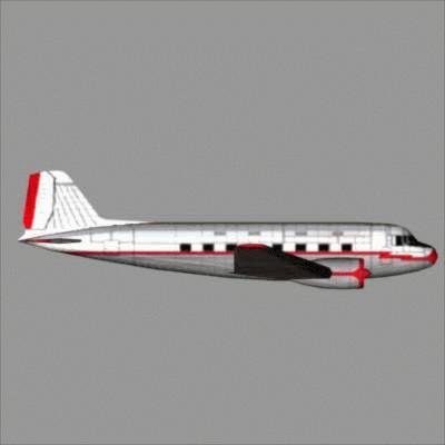 aircraft airplane 3d model