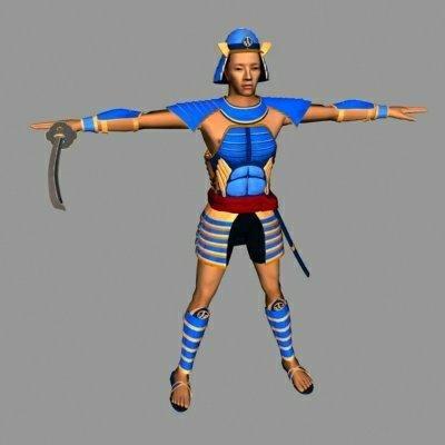 max samurai warrior character