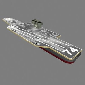 3ds max aircraft carrier