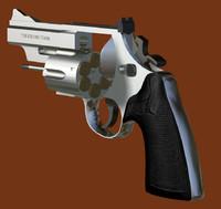 3ds 44 magnum revolver gun
