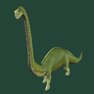imagination dinosaurs 3d model