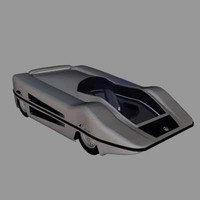 car scifi future 3d max
