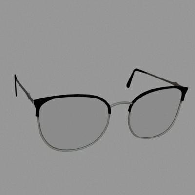 accessories glasses 3d model