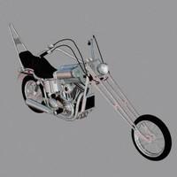 max harley davidson chopper motorcycle