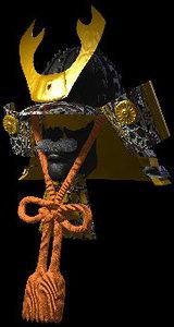 3d kabuto war helmet