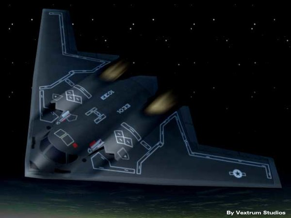 lightwave stealth fighter
