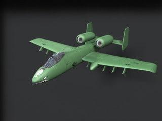 3d model of a10 -