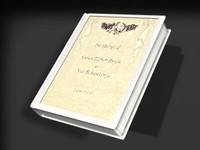 book inlayed cover 2 3d 3ds