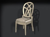 3ds max dinnete chair