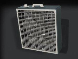 3ds max box fan