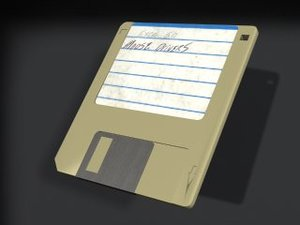 dirty floppy disk 3ds
