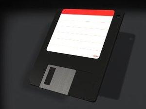 floppy disk 3d max