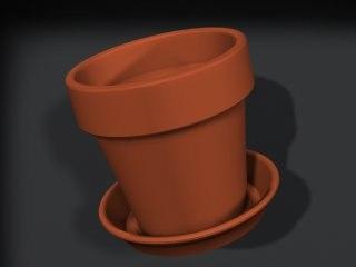 3dsmax flower pot