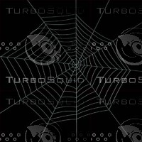 spider web 3d model