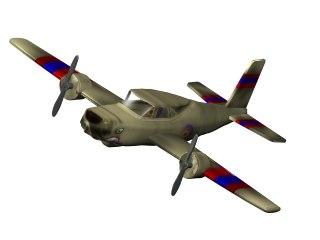3d aeroplane