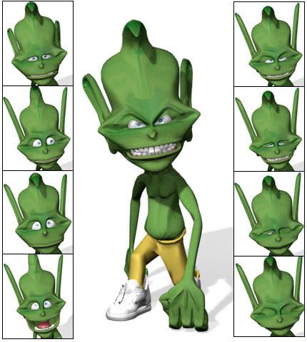 troll 3d max