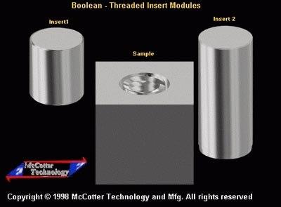 threaded inserts 3d model