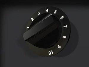 knob dial 3ds