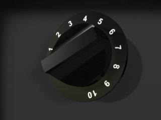3ds max knob dial