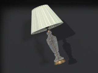 maya crystal lamp