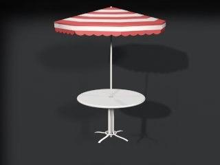 lawn table 3d model