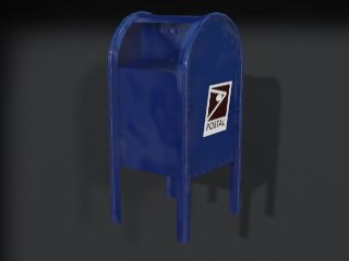 3ds max mailbox -