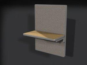 3d 4 office model