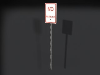 3ds parking sign