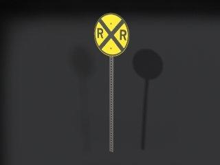 road crossing sign max