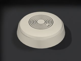 smoke detector 3d model
