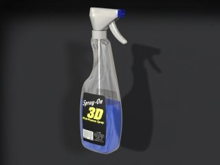 3ds max spray bottle