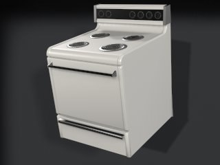 3d stove standard model