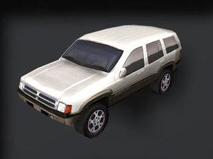 vehicle tires 3d 3ds