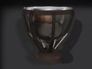 3d model of timpini drum
