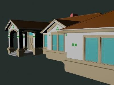 imagination modern architecture 3d max