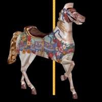 3d model horse carousel