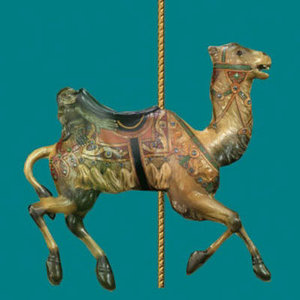 imagination carousel looff 3d model