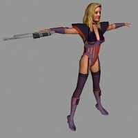 3d model human superhero