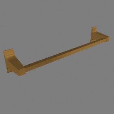 towel bar 3d model