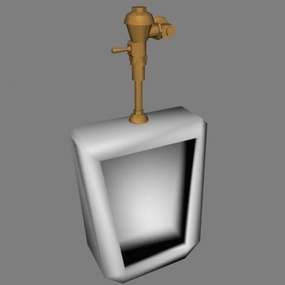 3ds urinal